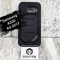 Противоударный чехол для Samsung A3 2017 (А320) Черный, фото 1