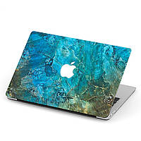 Чехол пластиковый для Apple MacBook Pro / Air Голубой мрамор (Blue marble) макбук про case hard cover, фото 1