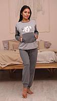 Пижама Женская С Собачкой Размер S (42-44)