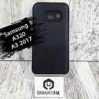 Противоударный чехол для Samsung A3 2017 (А320) iPaky Золотой, фото 1