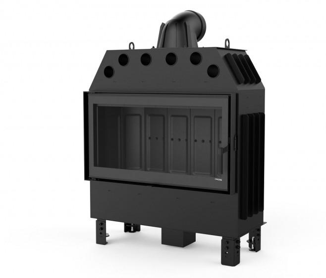 Камінна топка DEFRO HOME INTRA LA 16 kW (чорний шамот)