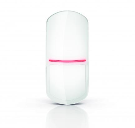 Цифровой пассивный ИК-извещатель с функцией освещения SLIM-PIR-LUNA-PET Satel