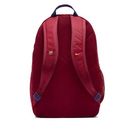 Рюкзак детский Nike FC Barcelona Stadium Youth Backpack CK6683-620 Бордовый, фото 2