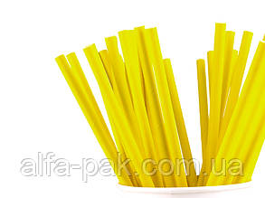 Соломка бумажная желтая