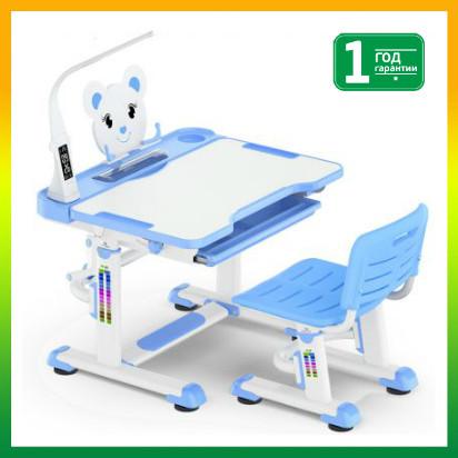 Комплект Evo-kids стул+стол+полка+лампа BD-04 B XL Teddy