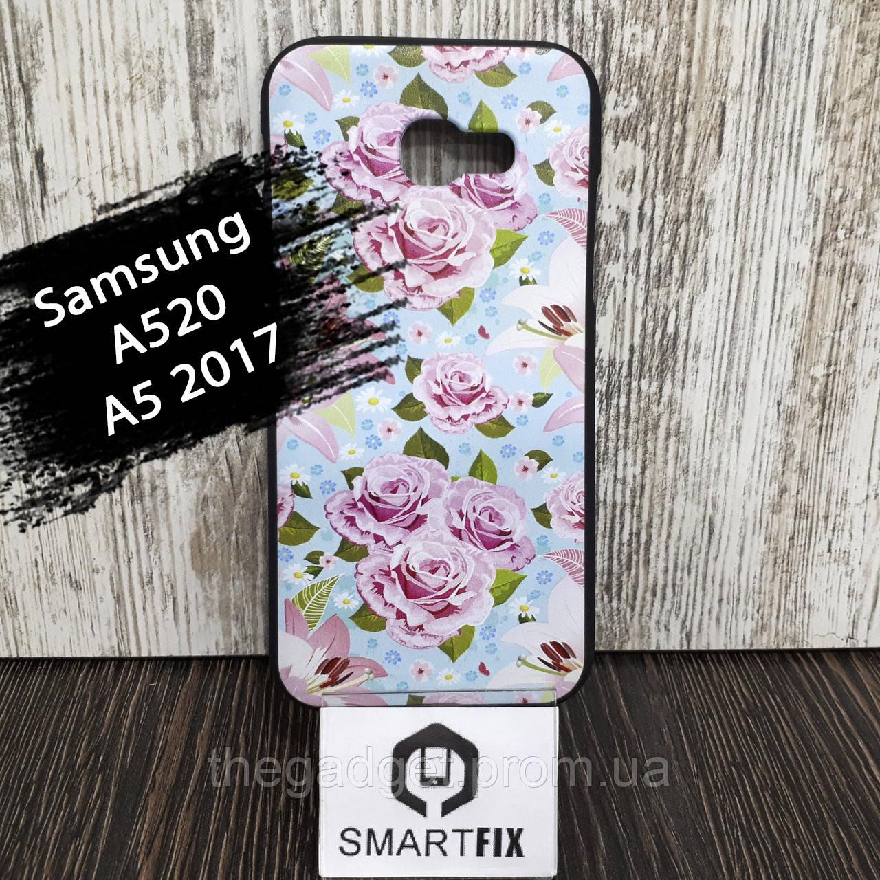 Чехол с рисунком для Samsung A5 2017 (A520)