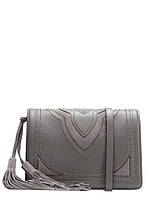 Кожаная модная женская сумка через плечо в 4х цветах Z92-218, фото 1