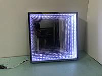 Зеркало с эффектом бесконечность (3D зеркало) для сенсорной комнаты