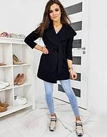 Женский стильный кардиган с поясом Oversize, фото 1