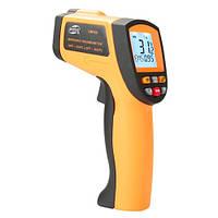 Пирометр бытовой, бесконтактный инфракрасный термометр  -50-550°C, 12:1, EMS=0,1-1, фото 1