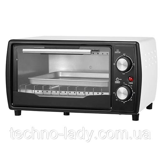 Электрическая печь духовка Camry CR 6016 обьем 9л мощность 1400вт