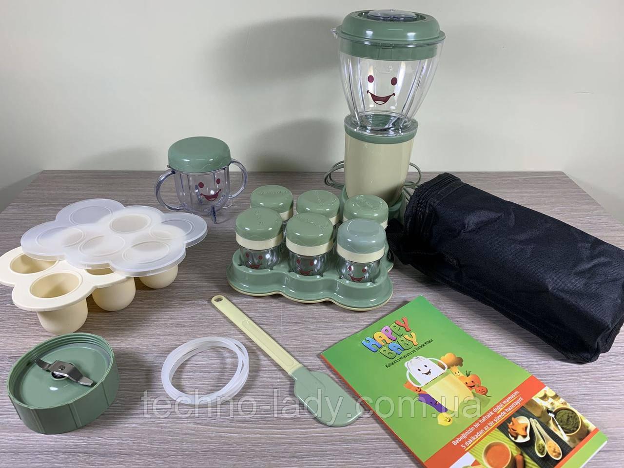 Стаціонарний блендер Happy Baby Blender