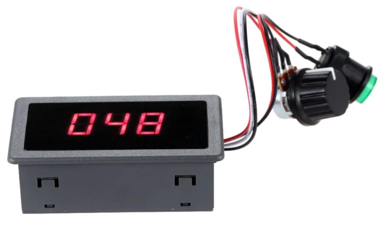 ШИМ контроллер. Управление скоростью двигателя постоянного тока с LED и регулировкой 6-30В 0-8А