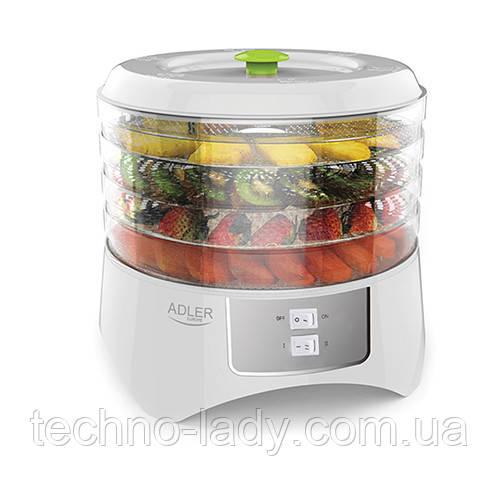 Сушильный аппарат для грибов, фруктов и трав Adler AD 6654