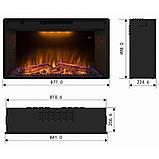 Електрокамін Royal Goodfire 33W LED, фото 8