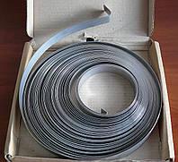 Бандажная лента ЛБ 20мм.х0,8мм.х25м(нержавейка)