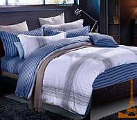 Комплект постельного белья Евро 200Х220 Сатин Хлопок 100% TL 180177 Love You
