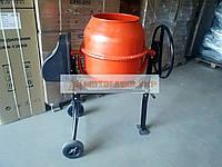Бетономішалка 125 к. побутова Форте EW2125P бетонозмішувач з чавунним вінцем, потужність 550Вт