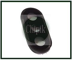Стекло (окошко камеры) для Apple iPhone XS, XS Max, iPhone 10S, iPhone 10S Max, серое кольцо