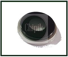 Стекло (окошко камеры) для Apple iPhone XR, iPhone 10R, белое кольцо