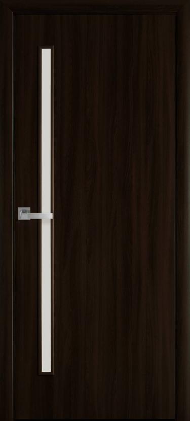 """Дверь межкомнатная Новый стиль Квадра """" Глория """" 60, 70, 80, 90 Венге Brown"""