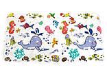 Антиковзаючий захисний килимок у ванну на присосках LN8666, фото 3