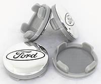 Колпачки для оригинальных дисков Форд (хром)