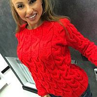Молодёжный свитер тёплый