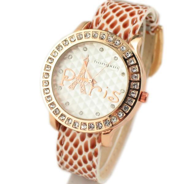 Часы женские Paris Castle beige