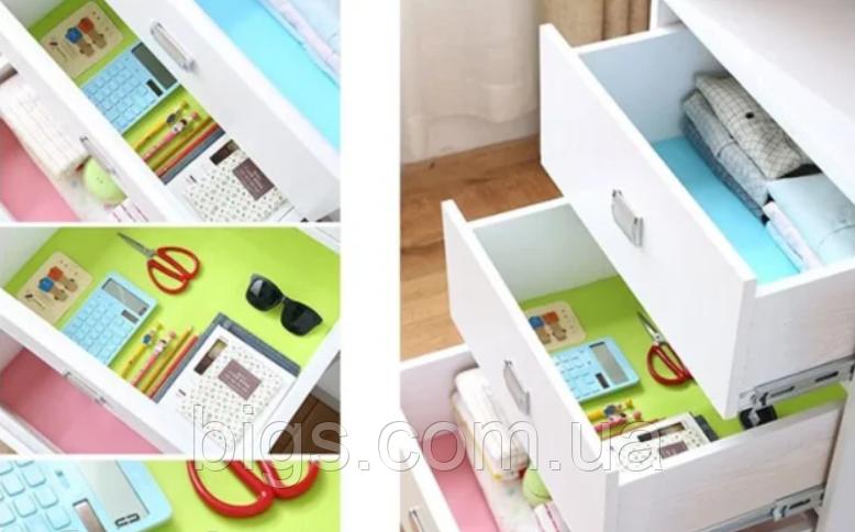 Антиковзні вкладиші в ящики, холодильник. Скатертина під столові прилади 30*45 див. 4шт/уп
