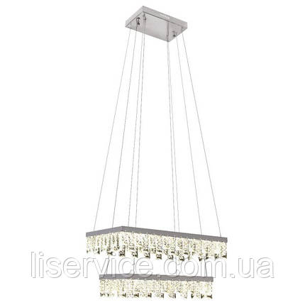 """Люстра LED """"PANDORA-96"""" 96W 4000K (хром), фото 2"""