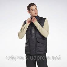 Пухової Жилет Reebok Outerwear Puffa FU1707 2020/2 чоловічий чорний