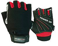 Рукавички для фітнесу PowerPlay 1568 Чорні XL, фото 1