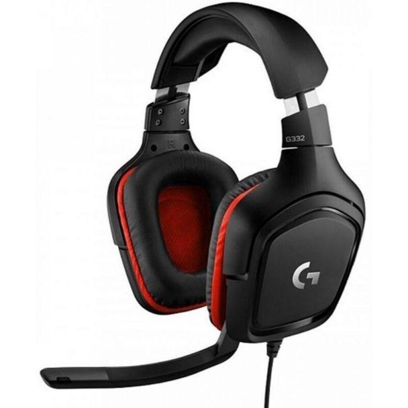 Компьютерная гарнитура Logitech Wired Gaming Headset G332 Black (981-000757)