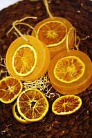 """Новогоднее мыло """"Глицериновый апельсин"""""""