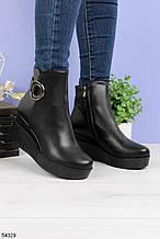 Женские ботинки на платформе 7 см эко кожа весна/ осень