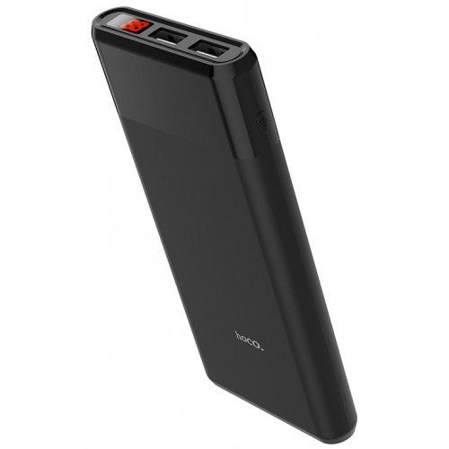 Универсальный аккумулятор Hoco Power Bank B35C Entourage 2USB 12000mAh Black
