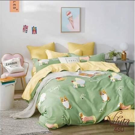 Постельное белье в детскую кроватку Viluta. Сатин 460, фото 2