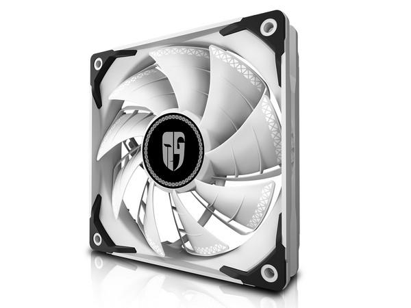 Вентилятор Deepcool для корпуса GAMER STORM TF120S White 120x120x25мм, HB, 500-1800±10%об/мин, (TF120S WHITE)
