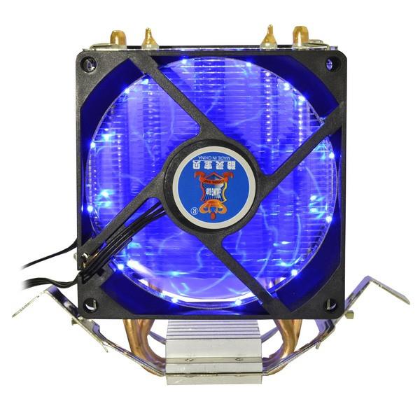 Охладитель для проц.Cooling Baby 1366/775/1150/1151/1155/1156/FM1/FM2/AM4/AM2/AM2+/AM3 93*133*130 мм (R90 BLUE