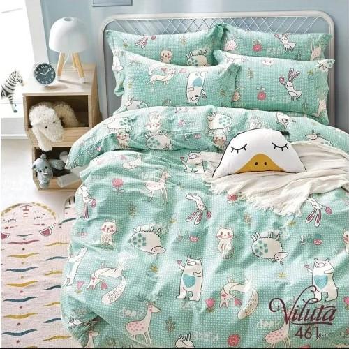 Постельное белье в детскую кроватку Viluta. Сатин 461