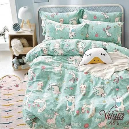 Постельное белье в детскую кроватку Viluta. Сатин 461, фото 2
