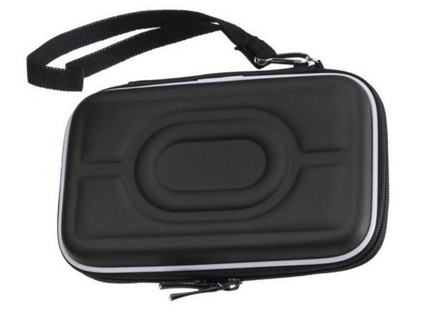 """Чехол Maiwo защитный для внешних HDD 2,5"""" плотный софт-тач EVA-материал, на молнии, черный (KB01 black)"""