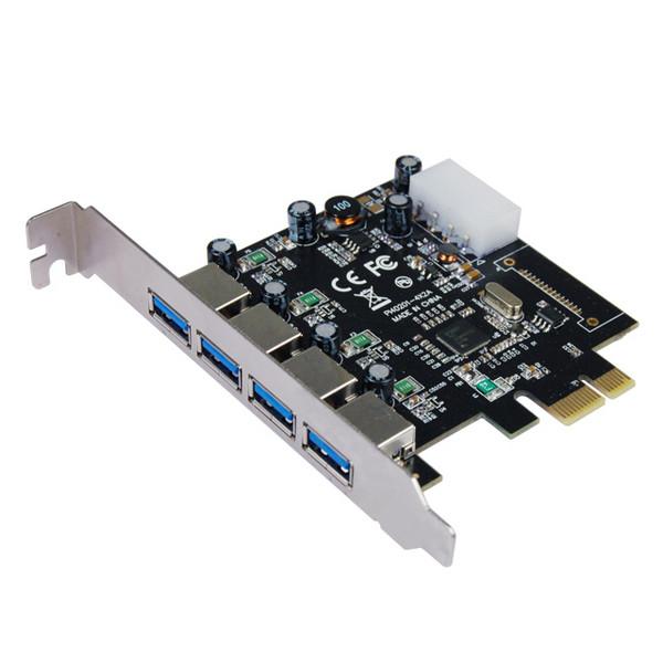 Контроллер STLab USB 3.0 4 канала (4 внешних) NEC µPD720202 PCI-E (U-1270)