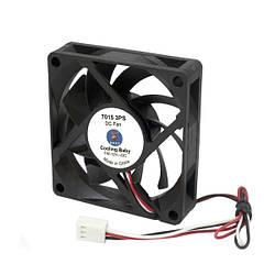 Вентилятор Cooling Baby 70x70x15мм SB 12В 0,15А 24,3дБ, 3000 об/мин 3pin (7015 3PS)