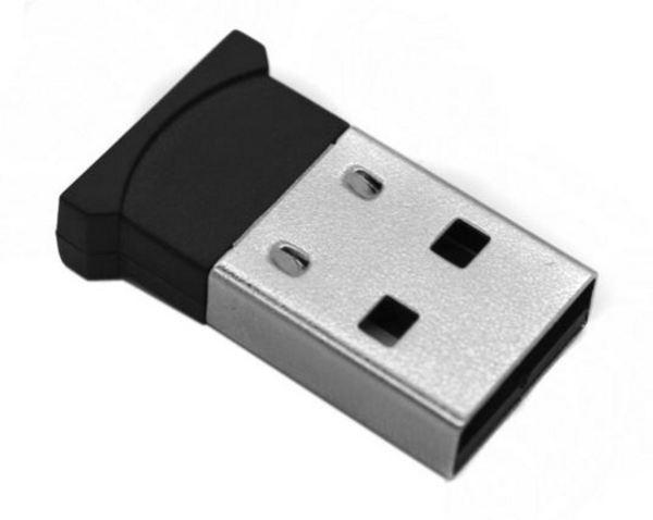 Беспроводный Bluetooth USB адаптер STLab V2.0 радиус действия 20м Class 2 чёрный мини (B-122)