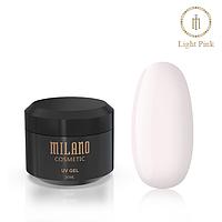 Гель для наращивая Milano Light Pink, 20мл