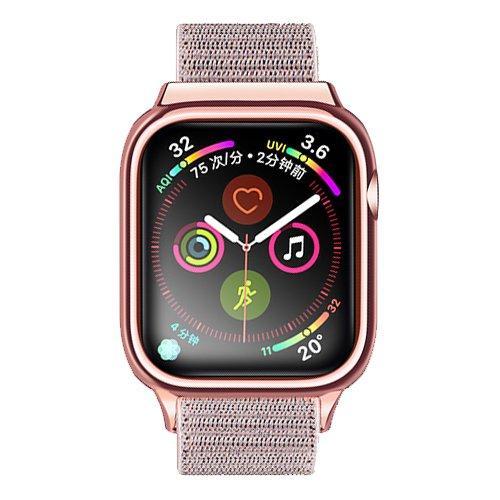 Ремешок Usams Apple Watch 4 Nylon Loop Strap 44mm Rose Gold