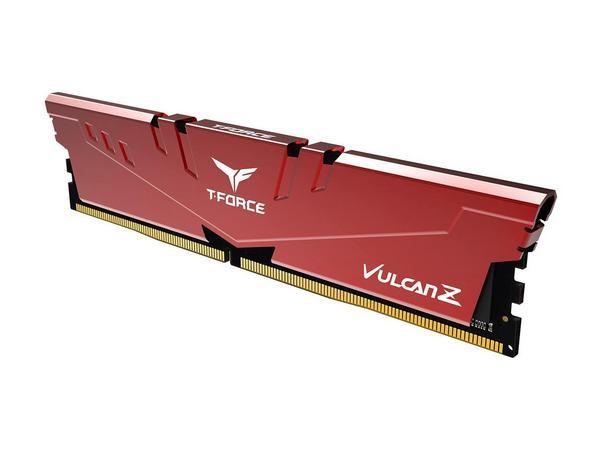 Модуль памяти DDR4 16GB 3000 Team Vulcan Z Red C16-18-18-38 (TLZRD416G3000HC16C01)