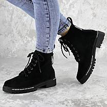 Ботинки женские Fashion Char 2191 38 размер 24,5 см Черный, фото 2